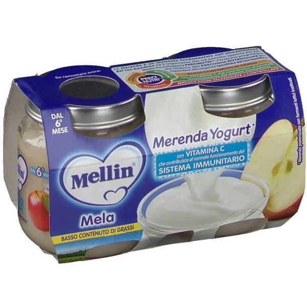 MELLIN OMO MERENDA 2X120 YOGURT MELA