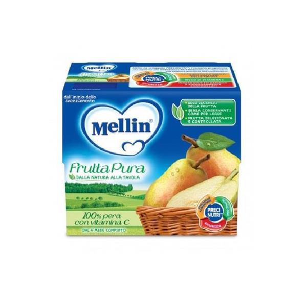 MELLIN FRUTTAPURA 4PZ PERA