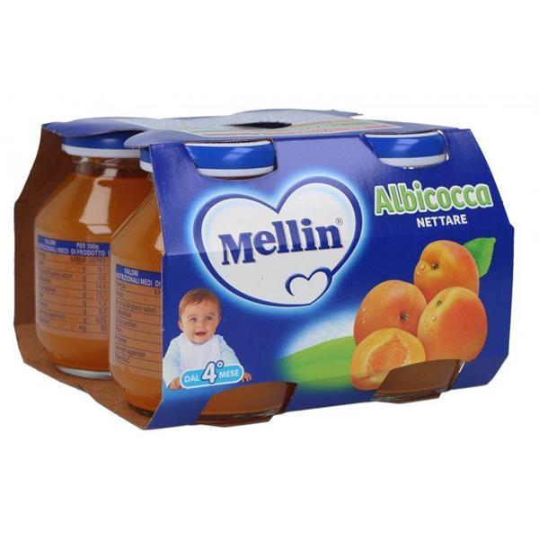 MELLIN NETTARE ALBICOCCA GR125X4