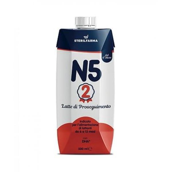 N5+2 LATTE PROS 6-12M ML500