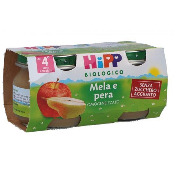HIPP OMO FRUTTA MELA-PERA GR80X2
