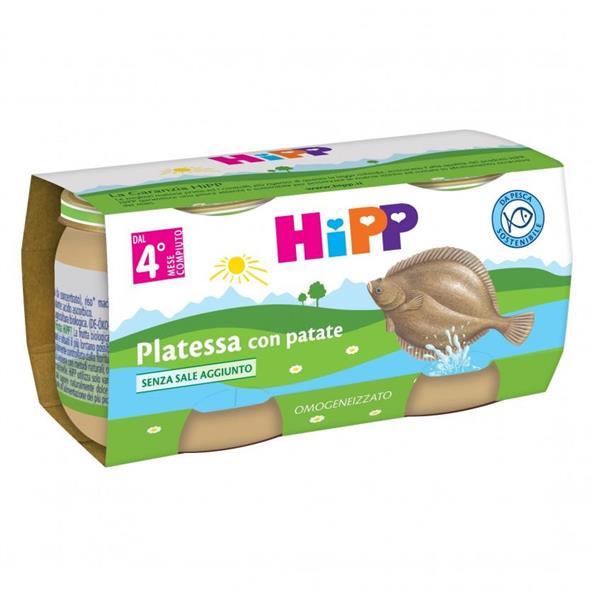 HIPP OMO PESCE PLATESSA GR80X2