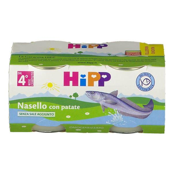 HIPP OMO PESCE 2X80 NASELLO CON PATATE