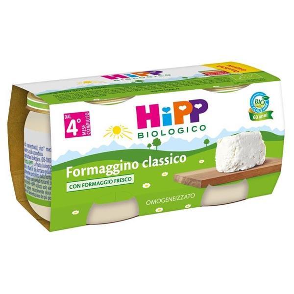 HIPP OMO FORMAGGINO GR80X2