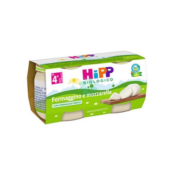 HIPP OMO FORMAGGINO MOZZARELLA GR80X2