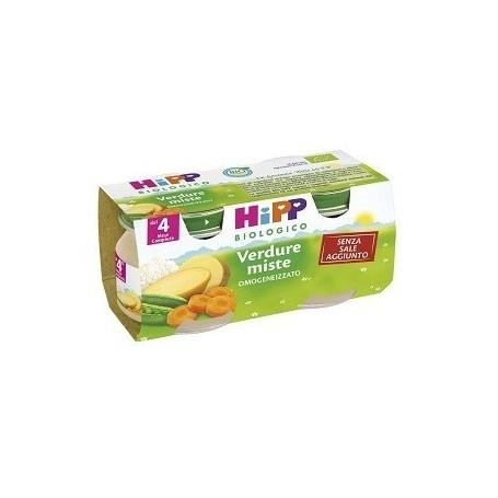 HIPP OMO VERDURE MISTE GR80X2