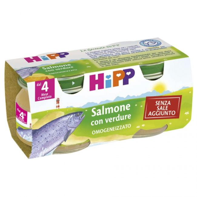 HIPP OMO PESCE 2X80 SALMONE VERDURE