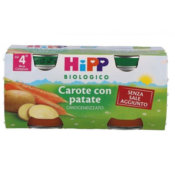 HIPP OMO VERDURE CAROTE CON PATATE GR80X2