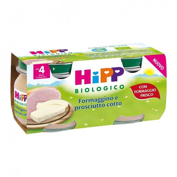 HIPP OMO FORMAGGINO 2X80 PROSCIUTTO