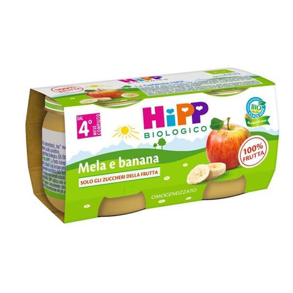 HIPP OMO FRUTTA MELABANANA GR80X2