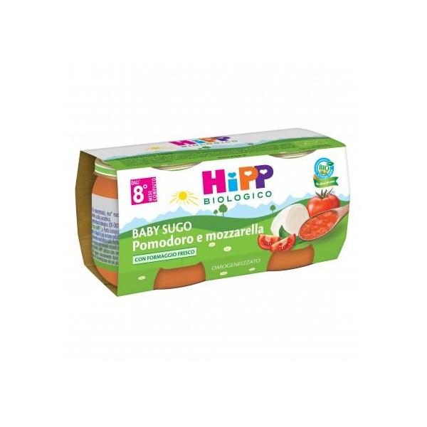 HIPP SUGHI POMODORO MOZZARELLA GR80X2