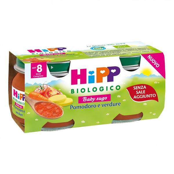 HIPP SUGHI POMODORO E VERDURE GR80X2