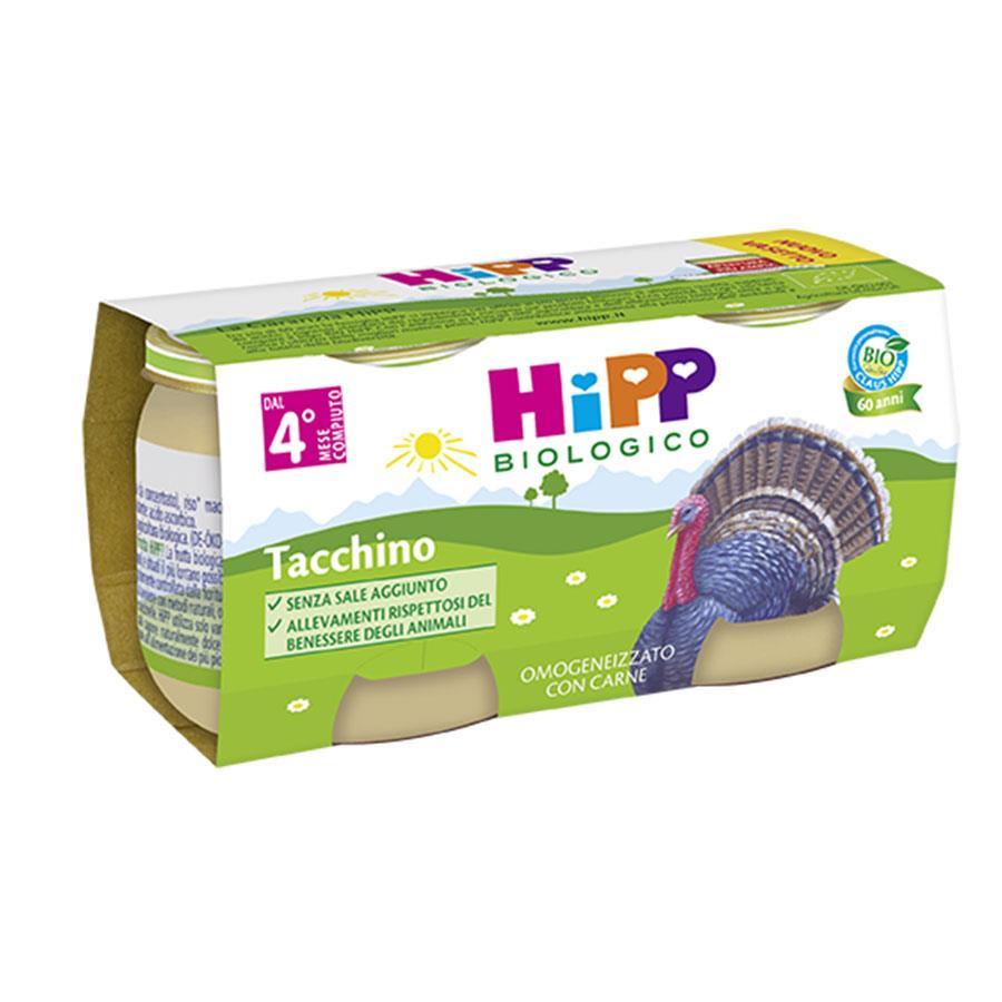 HIPP OMO CARNE TACCHINO GR80X2