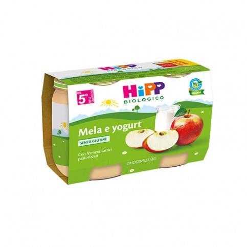 HIPP OMO MERENDA MELA YOGURT GR125X2
