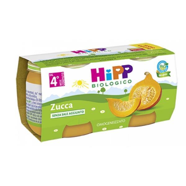 HIPP OMO VERDURE ZUCCA GR80X2