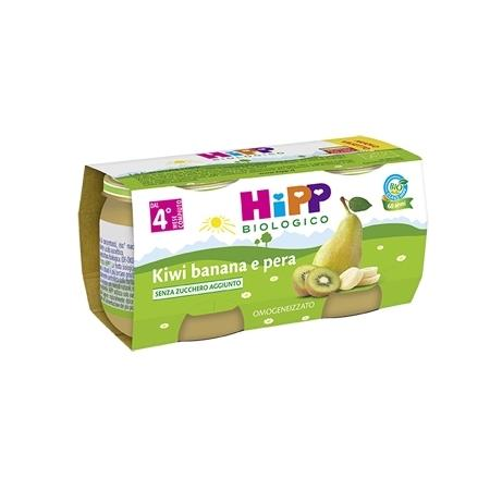 HIPP OMO FRUTTA KIWI BANANA PERA GR80X2