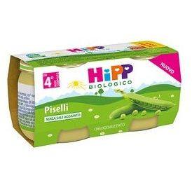 HIPP OMO VERDURE PISELLI GR80X2