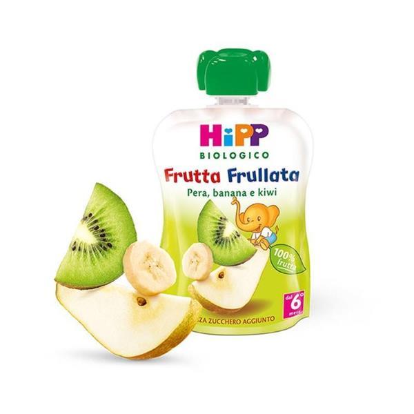 HIPP FRUTTA FRULLATA PERA BANANA E KIWI GR90