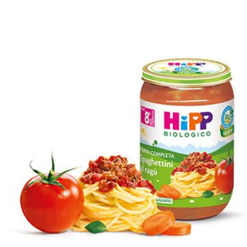 HIPP PAPPA SPAGHETTI AL RAGU GR220