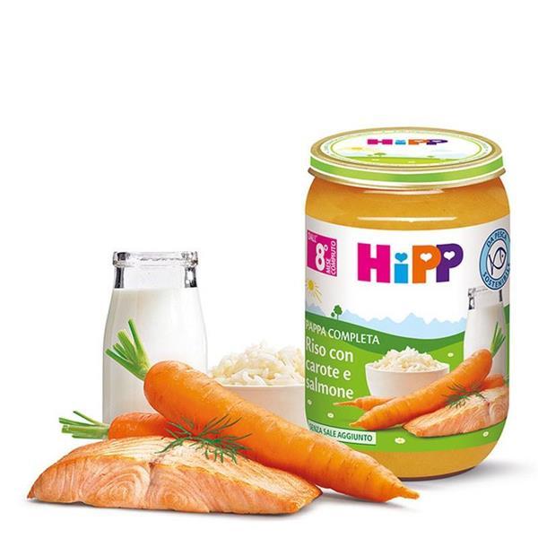 HIPP PAPPA RISO/CAROTE/SALMONE GR220