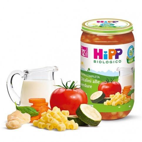 HIPP PAPPA DITALINI VERDURE GR250