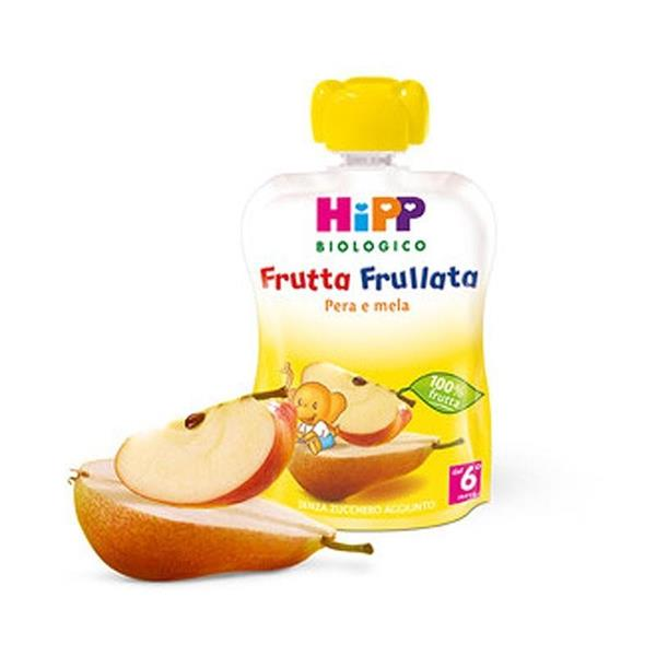 HIPP FRUTTA FRULLATA PERA E MELA GR90