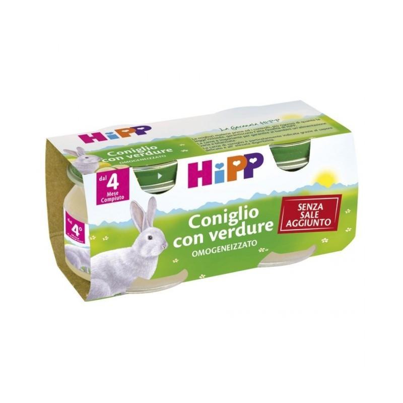 HIPP OMO CARNE CONIGLIO GR80X2