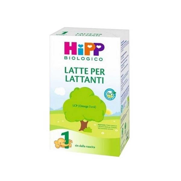 HIPP LATTE 1 LATTANTI POLV.600GR BIO