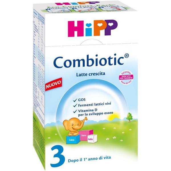 HIPP LATTECOMBIOTIC CRESCITA 3 POLV.600GR