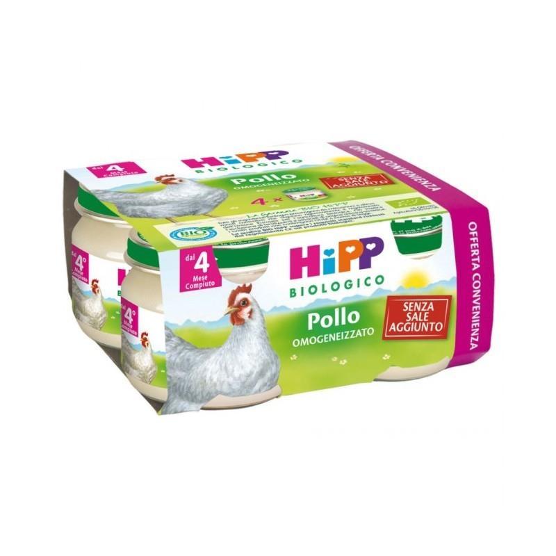HIPP OMO CARNE POLLO 4X80G