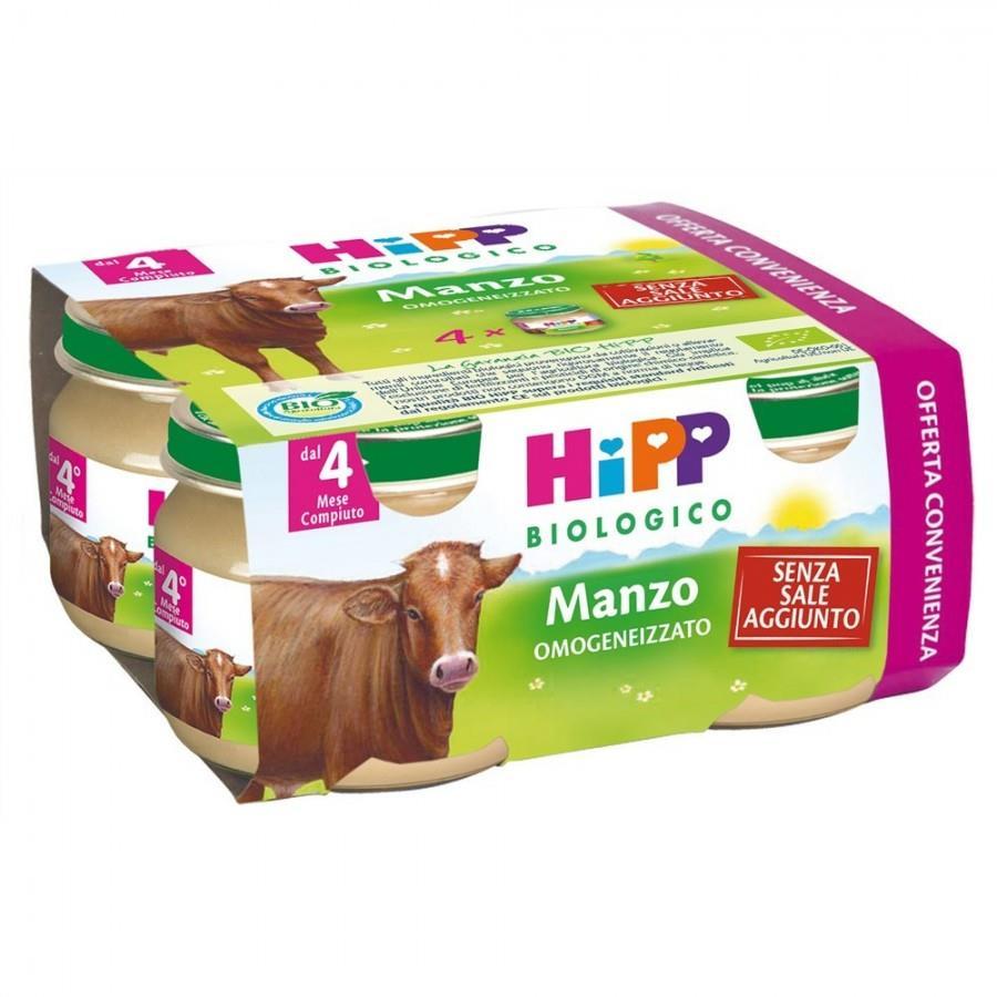 HIPP OMO CARNE MANZO 4X80G