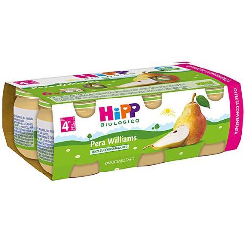 HIPP OMO FRUTTA PERA WILLIAMS 6X80G