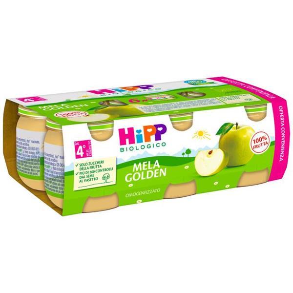 HIPP OMO FRUTTA MELA GOLDEN 6X80G