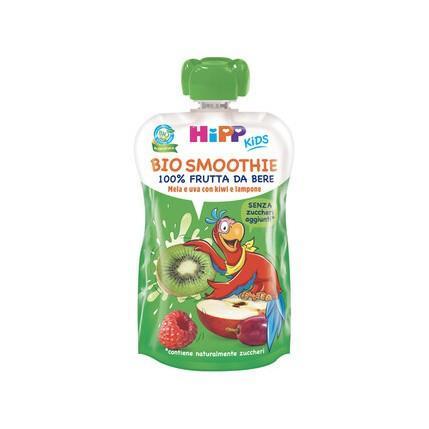 HIPP BIO SMOOTHIES MELA/UVA/KI
