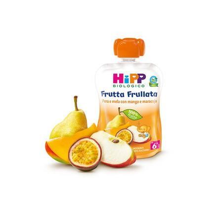 HIPP FRUTTA FRULLATA PERA MELA MANGO GR90