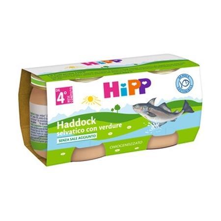 HIPP OMO PESCE FILETTI DI HADDOCK SELVATICO 2X80