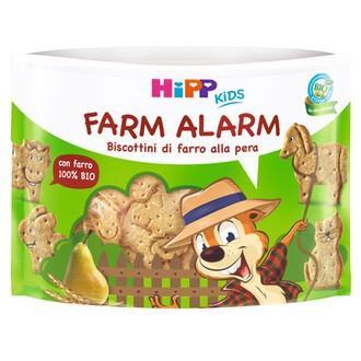 HIPP FARM ALARM  BISCOTTINI DI FARRO ALLA PERA  45G