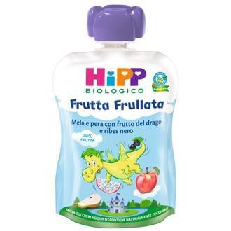 HIPP FRUTTA FRULLATA DRAGONE 90GR