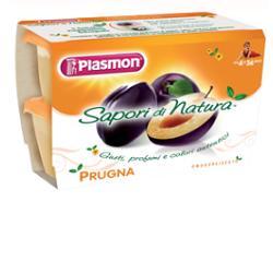PLASMON FRUTTA GRATTUGIATA PRUGA GR 100X4