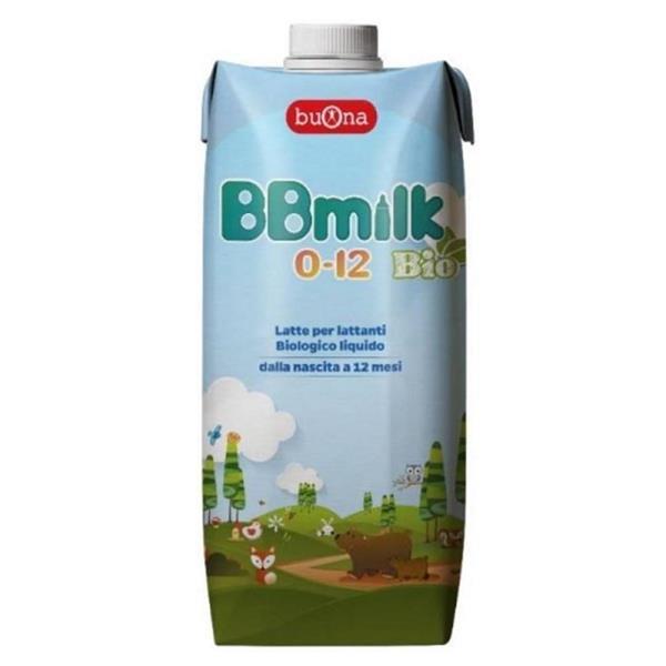 BBMILK BIO LIQ 0-12 ML500