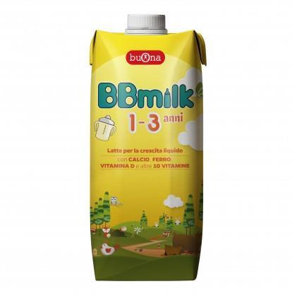 BBMILK LIQUIDO 1-3 ANNI ML500