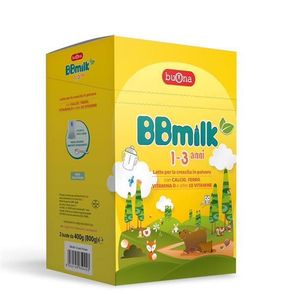 BBMILK 1-3 ANNI POL   800G