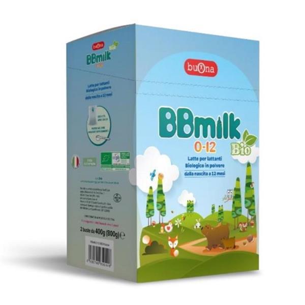BBMILK LATTE 0-12 POL  800G
