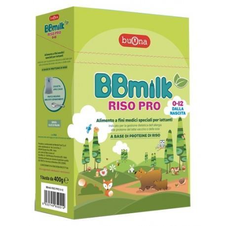 BBMILK LATTE RISO PRP 0-12  400G