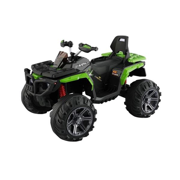 BKT QUAD PASSION 12V IN PELLE VERDE