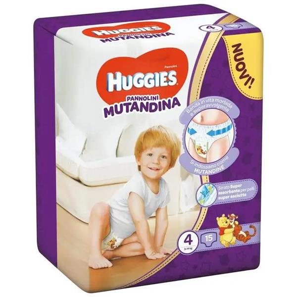 HUGGIES PANNOLINO MUTANDINA TG 4