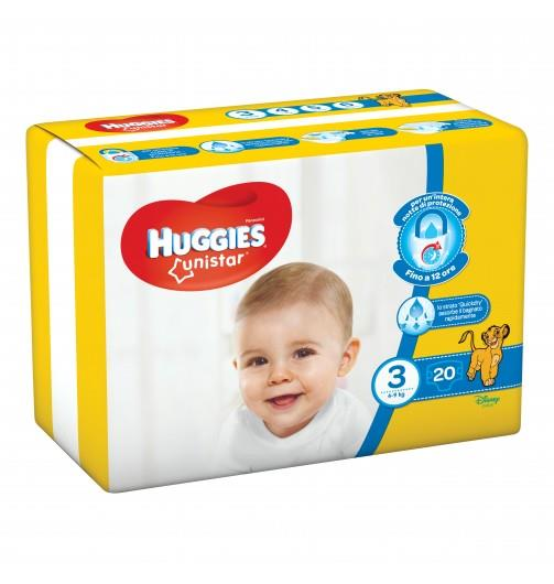 HUGGIES UNISTAR T3