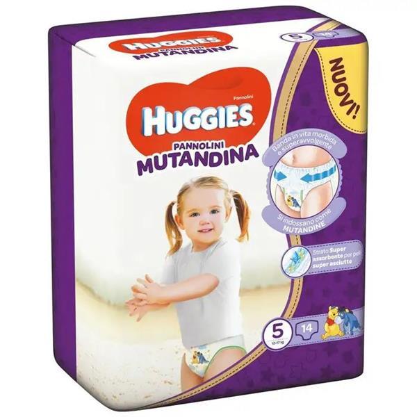 HUGGIES PANNOLINO MUTANDINA TG 5