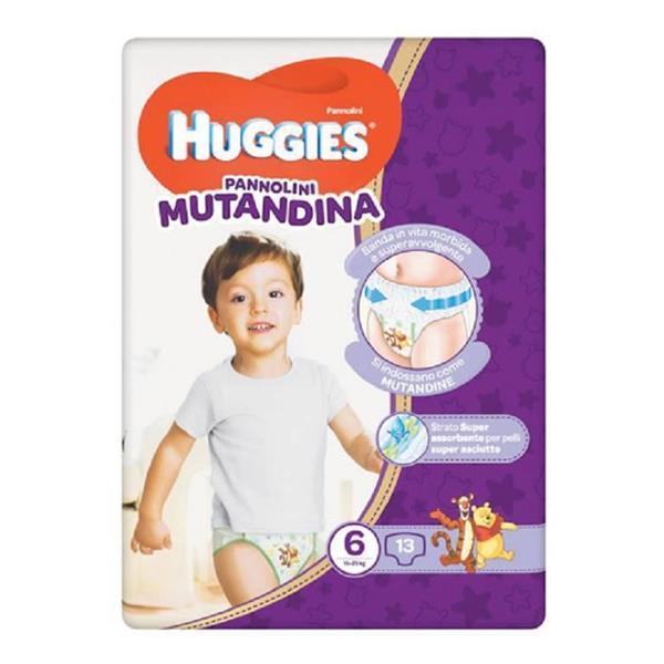 HUGGIES PANNOLINO MUTANDINE TG6