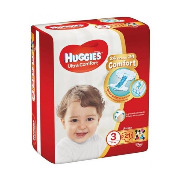 HUGGIES ULTRA CONFORT TG3 4/9